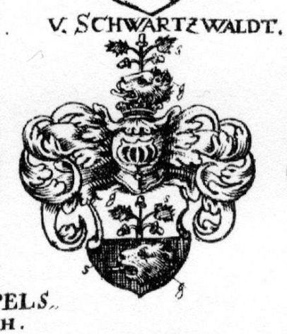 herb Schwartzwaldów z Siebmachera (wappenbuch.de)