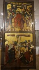 Fragment ołtarza ś w. Jodoka, niestety nie w swoim prawdziwym entourage'u, bo w Muzeum Warmii i Mazur w Olsztynie